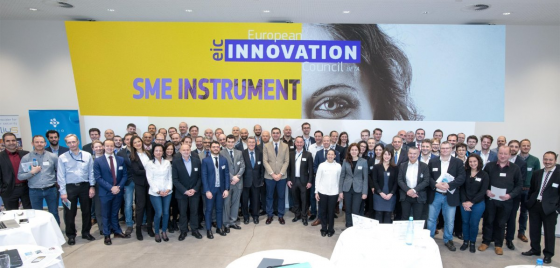 32 top-class innovators SME presented their business cases to Airbus Managers in Hamburg
