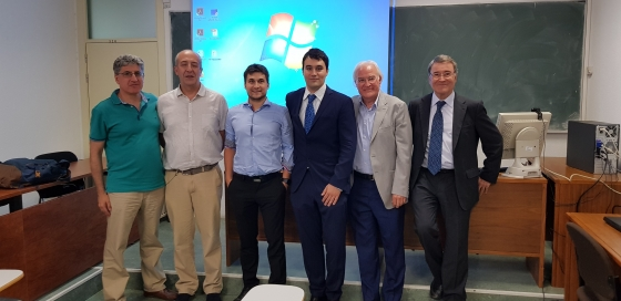 Doctoral thesis of Isa�as Mart�n on the design and application of ADEX in superconducting cavities of a proton linear accelerator