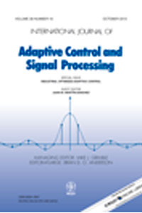 Special Issue of the International Journal of Adaptive Control and Signal Processing